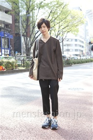 ファッションコーディネート原宿・表参道 2012年04月 新野尾 尚さん