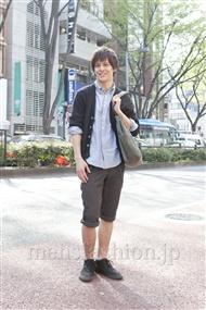 ファッションコーディネート原宿・表参道 2012年04月 佐々木和彦さん