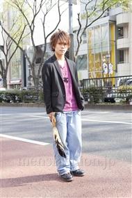 ファッションコーディネート原宿・表参道 2012年04月 夏川登志郎さん