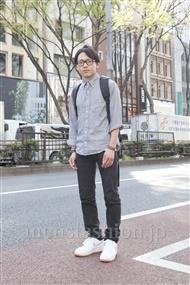 ファッションコーディネート原宿・表参道 2012年04月 辻 純平さん