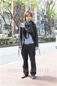 ファッションコーディネート原宿・表参道 2012年04月 新田快広さん