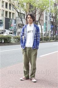 ファッションコーディネート原宿・表参道 2012年04月 青山清志さん