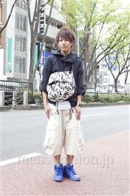 ファッションコーディネート原宿・表参道 2012年04月 永田イタルさん