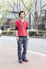 ファッションコーディネート原宿・表参道 2012年04月 雨宮雄三さん