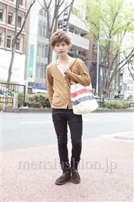 ファッションコーディネート原宿・表参道 2012年04月 町山博彦さん