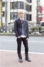 ファッションコーディネート原宿・表参道 2012年04月 朝倉一馬さん