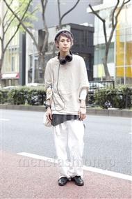 ファッションコーディネート原宿・表参道 2012年04月 カワイコウジさん