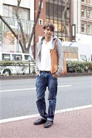 ファッションコーディネート原宿・表参道 2012年04月 益子卓也さん
