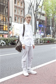 ファッションコーディネート原宿・表参道 2012年04月 岩井拳士朗さん