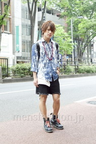 ファッションコーディネート原宿・表参道 2012年05月 夏川登志郎さん