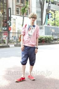 ファッションコーディネート原宿・表参道 2012年05月 深町健哉さん