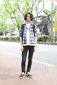 ファッションコーディネート原宿・表参道 2012年05月 笠井友人さん