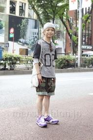 ファッションコーディネート原宿・表参道 2012年05月 佐藤貴龍さん