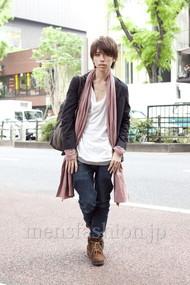 ファッションコーディネート原宿・表参道 2012年05月 花井 陽さん