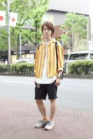 ファッションコーディネート原宿・表参道 2012年05月 伏貫 耕さん