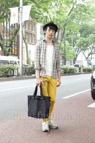 ファッションコーディネート原宿・表参道 2012年05月 武井佑樹さん