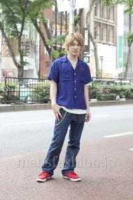 ファッションコーディネート原宿・表参道 2012年05月 西本 雅さん