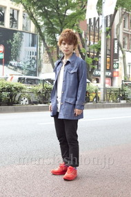 ファッションコーディネート原宿・表参道 2012年05月 カワダシンゴさん