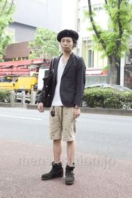 ファッションコーディネート原宿・表参道 2012年05月 小林綾太さん