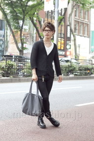 ファッションコーディネート原宿・表参道 2012年05月 町山博彦さん