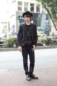 ファッションコーディネート原宿・表参道 2012年05月 斎藤亮太さん