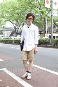 ファッションコーディネート原宿・表参道 2012年05月 増渕雄一さん