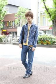 ファッションコーディネート原宿・表参道 2012年05月 五味純一さん