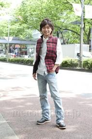 ファッションコーディネート原宿・表参道 2012年05月 マサさん