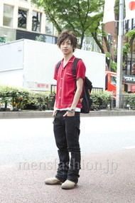 ファッションコーディネート原宿・表参道 2012年05月 雨宮雄三さん