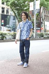 ファッションコーディネート原宿・表参道 2012年05月 青山清志さん