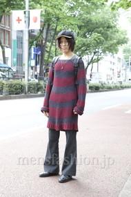 ファッションコーディネート原宿・表参道 2012年05月 桑原 才さん