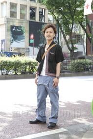 ファッションコーディネート原宿・表参道 2012年05月 川原一高さん