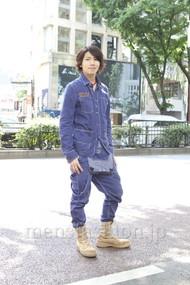 ファッションコーディネート原宿・表参道 2012年05月 服部大起さん