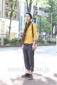 ファッションコーディネート原宿・表参道 2012年05月 早瀬 拓さん