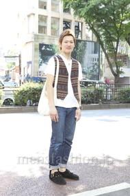 ファッションコーディネート原宿・表参道 2012年05月 ワタベショウマさん