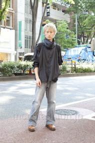 ファッションコーディネート原宿・表参道 2012年05月 松金祐大さん