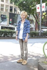 ファッションコーディネート原宿・表参道 2012年05月 内海 陸さん