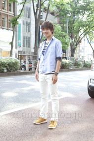 ファッションコーディネート原宿・表参道 2012年05月 藤岡秀太さん