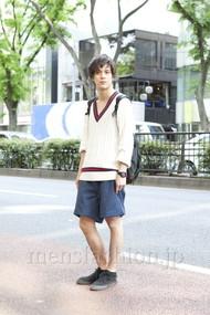ファッションコーディネート原宿・表参道 2012年05月 佐々木和彦さん
