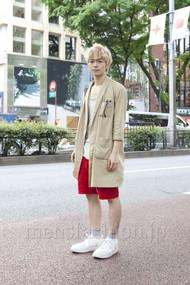ファッションコーディネート原宿・表参道 2012年05月 ケンシロウさん