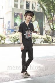 ファッションコーディネート原宿・表参道 2012年06月 市川勇輝さん