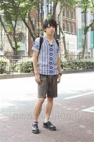 ファッションコーディネート原宿・表参道 2012年06月 北 魁道さん