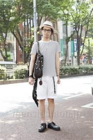 ファッションコーディネート原宿・表参道 2012年06月 小林綾太さん