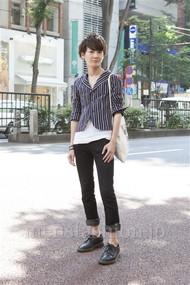 ファッションコーディネート原宿・表参道 2012年06月 星 雅人さん
