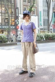 ファッションコーディネート原宿・表参道 2012年06月 桑原 才さん