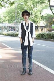 ファッションコーディネート原宿・表参道 2012年06月 藤木亮介さん