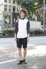 ファッションコーディネート原宿・表参道 2012年06月 伏貫 耕さん