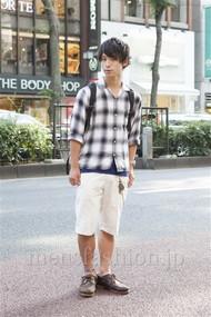 ファッションコーディネート原宿・表参道 2012年06月 二階堂優多さん