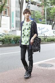 ファッションコーディネート原宿・表参道 2012年06月 飯島彰彦さん
