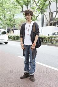 ファッションコーディネート原宿・表参道 2012年06月 高木眞之介さん